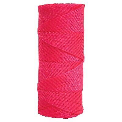 Kraft Tool 500 Fluorescent Pink Braided Nylon Masons Line