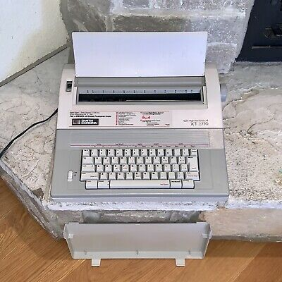 Working Smith Corona Xt-2710 Spell-right Dictionary Word Processor Typewriter