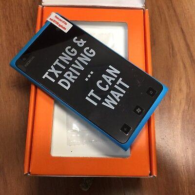New INBOX Nokia Lumia 900 16GB Cyan Indecent Windows (AT&T) GSM GLOBAL Unlocked.