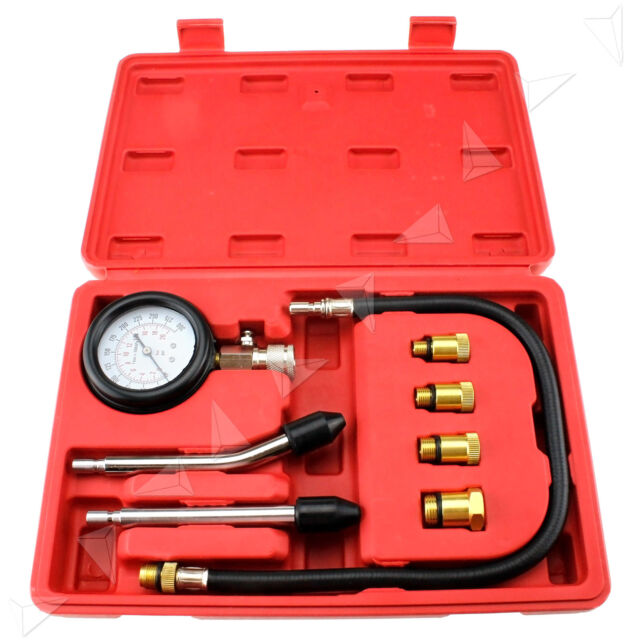 NEW Petrol Engine Compression Tester Kit / Set For Motorcycles and Automotives