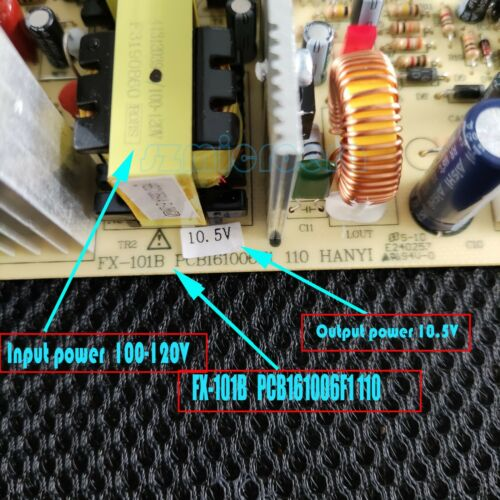 110V wine cooler control board FX-101B PCB161006F1 110 For wine cooler 10.5V