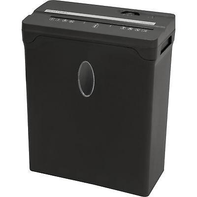 New Sentinel Compact 6 Sheet Cross-cut Shredder Paper Credit Cards Black