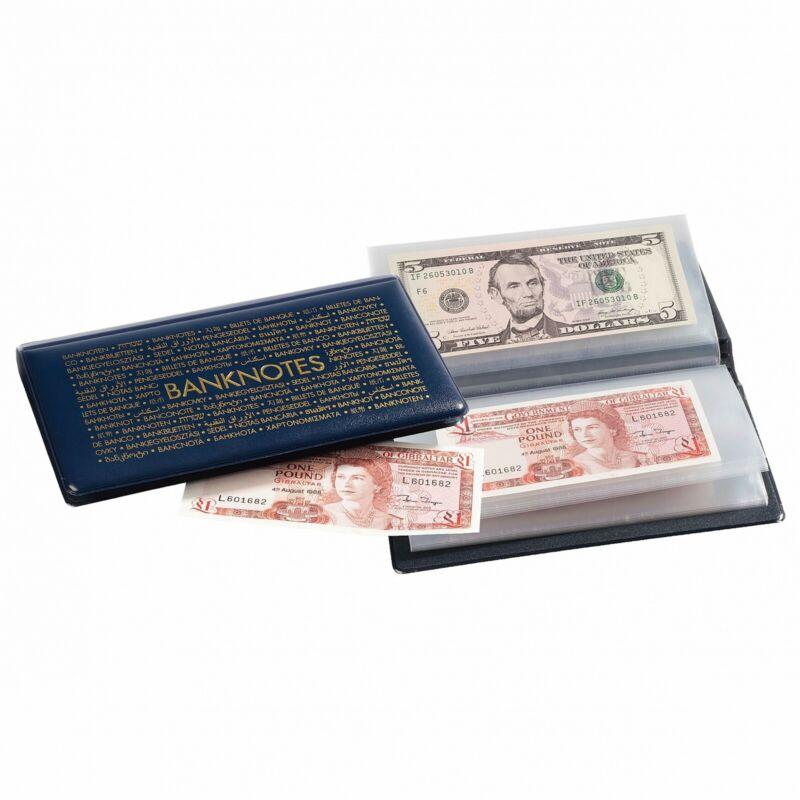 Banknotes Pocket Album Wallet Dollar Bill Currency Paper Money Holder Lighthouse