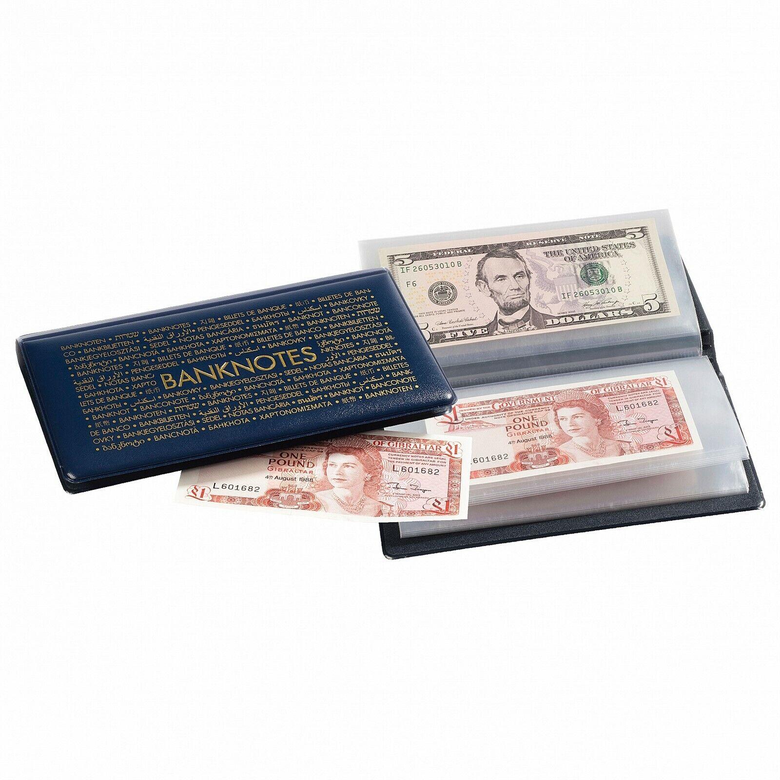 3 Lighthouse Banknotes Pocket Album Wallet Dollar Bills Currency Paper Money
