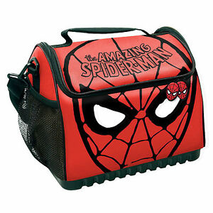 Spider-Man-Large-Sports-Drink-Cooler-Eski-Lunch-Bag-Fathers-Day
