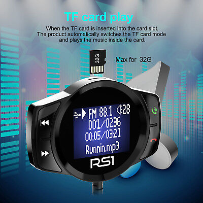 Freisprecheinrichtung Wireless Bluetooth Car Kit FM-Transmitter MP3-Player USB Car Kit Mp3-player