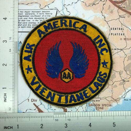 Patch , Vietnam CIA Air America Inc Vientiane Laos patch