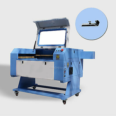 Reci 100w Laser Tube Co2 Usb Laser Engraving Cutting Machine Rotary Axis