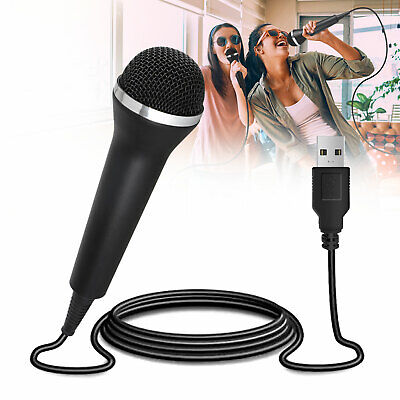 10FT/3M Handheld Microphone Game Home KTV Party Gift Recording Mic Equipment US