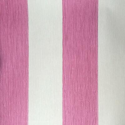 Deco Discount Pink Off White Glitter Stripe Slight Imperfect Wallpaper J92503