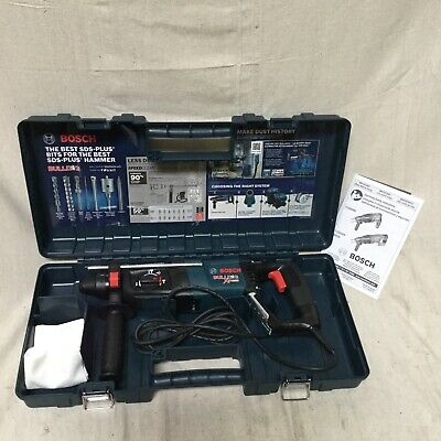 Bosch 11255vsr Plus Rotary Hammer Kit 7.5 A Amps 0 To 5800 Blowsminute 120 V