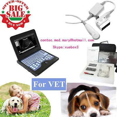 Vet Veterinary Laptop Ultrasound Scanner Machine Micro Convex For Dogcatanimal