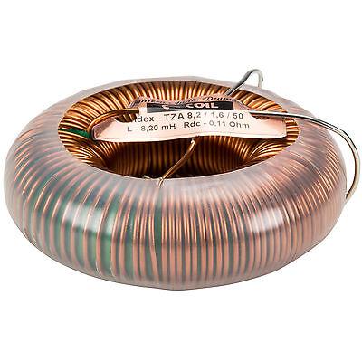 Jantzen 6430 8.2mh 14 Awg C-coil Toroidal Inductor