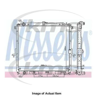New Genuine NISSENS Radiator 68726 Top Quality
