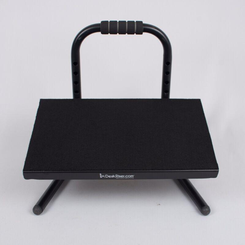 Desk Riser Adjustable Foot Rest - Sturdy Footrest / Nice Quality!