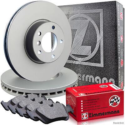 Zimmermann Bremsscheiben & Beläge MERCEDES R129 280 300SL 320 500/SL 60AMG Vorne