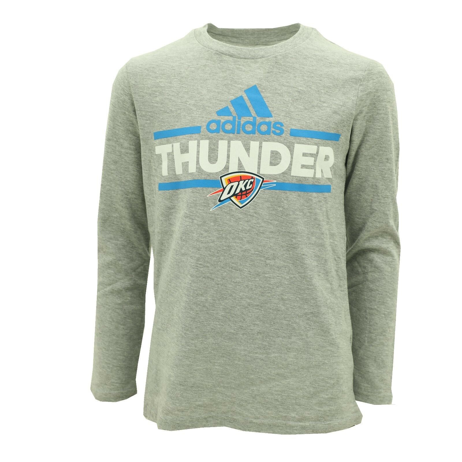 online retailer 4da87 2fcc3 Details about Oklahoma City Thunder Kids Youth Sizes Official NBA Adidas  Long Sleeve Shirt New