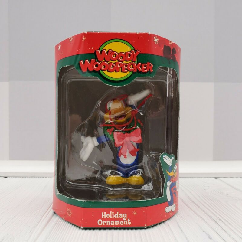 Seasonal Specialties Woody Woodpecker Pose Holiday Ornament