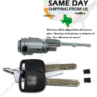 Ignition Switch Cylinder Lock For Honda 02 15 Odyssey Civic Crosstour  Pilot