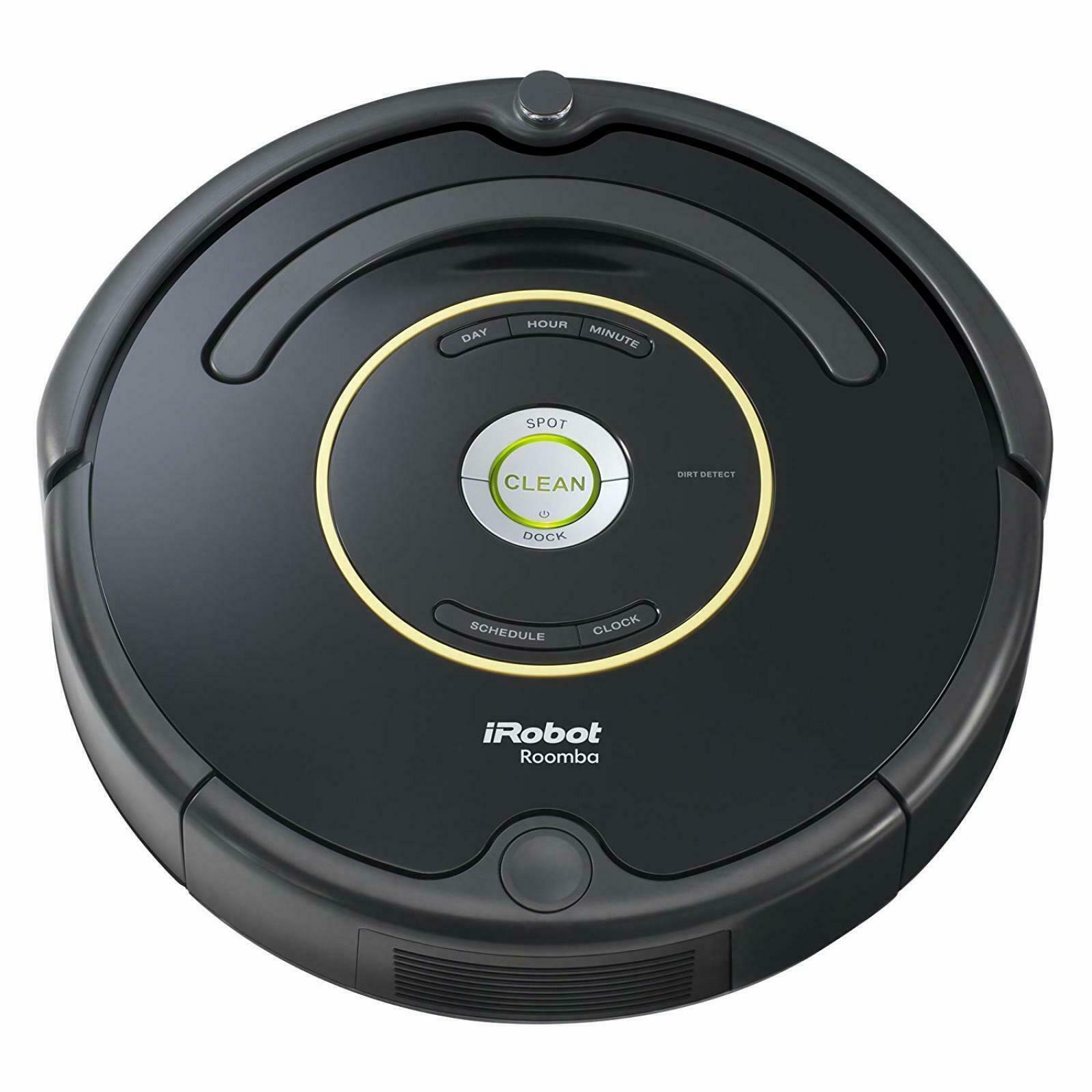 Prezzo Roomba 620.Irobot Roomba 650 Wi Fi Vacuum Cleaning Robot With Aerovac Bin Black