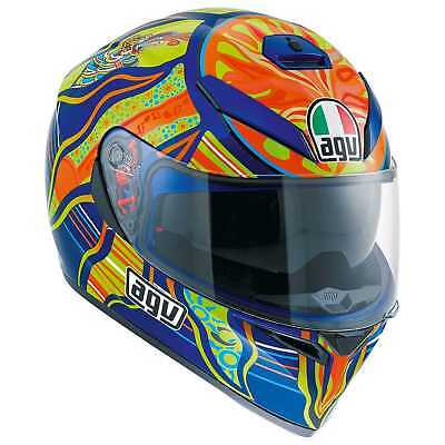 New AGV K-3 SV Helmet, Five Continents/VR46 Valentino Rossi, ML(Medium/Large) for sale  Hudsonville