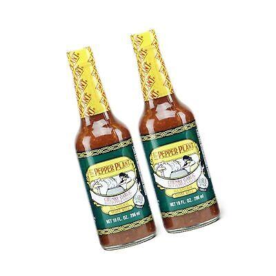 The Pepper Plant Chunky Garlic Hot Pepper Sauce 2-pack Chunky Garlic Hot Pepper Sauce