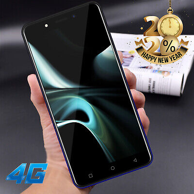 Android Phone - Cheap 4G LTE Unlocked Android 9.0 Mobile Phone Dual SIM Quad Core Phablet 2+16GB