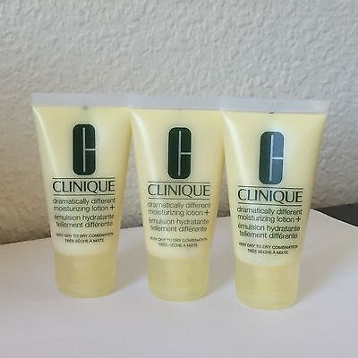 3X Clinique Dramatically Different Moisturizing Lotion +  30ml X3=90ml Total