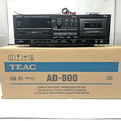 Teac AD-800 Compact Disc (CD) Player / Reverse Cassette Deck for sale  Shipping to South Africa
