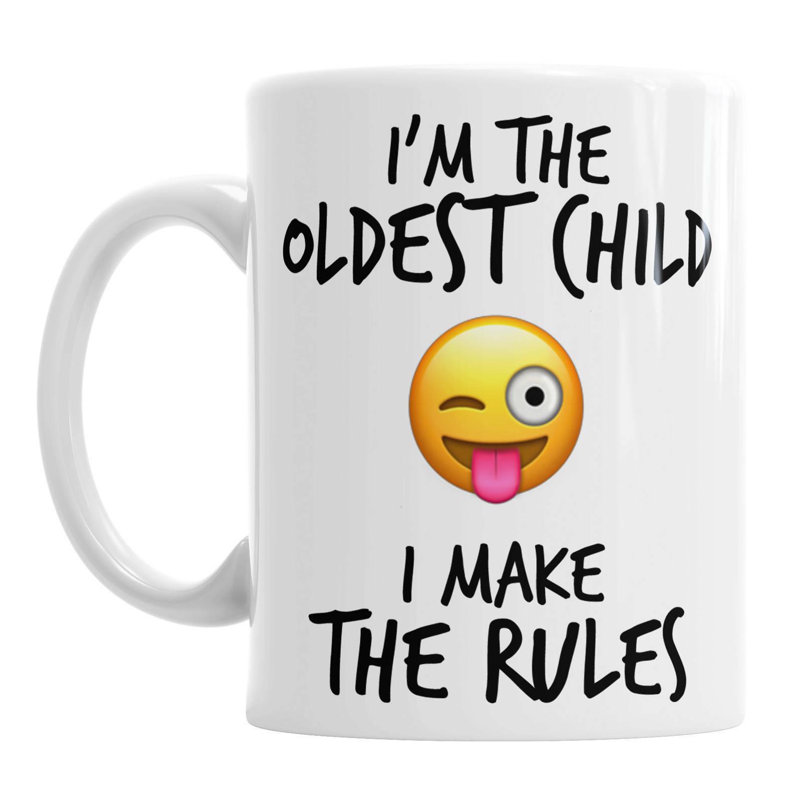 I m The Oldest Child Emoji Child Rules Siblings Rule Mug Oldest Child Mug Oldest - $13.99