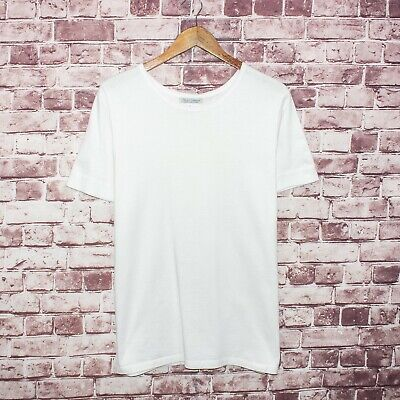 Merz b. Schwanen Men's Short Sleeve Crew Tee Shirt White Size 7 fits XL Germany