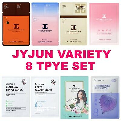 [JAYJUN] VARIETY 8 TYPE MASK PACK SET, Jayjun Best Mask Package K-Beauty