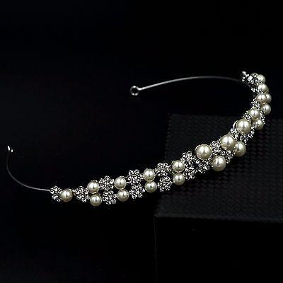 Bridal Jewelry Accessories Wedding Headpiece Crystal Headband Hair Pin Tiara 253