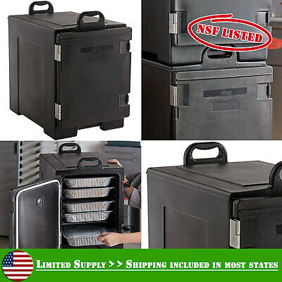 Hot Cold Cooler Insulated Food Pan Carrier Box Commercial Catering Chafing Dish