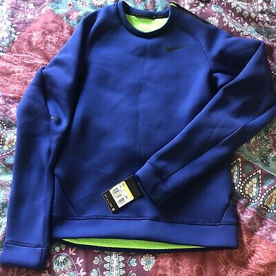 Nike Therma Fit Blue Jumper Size Small