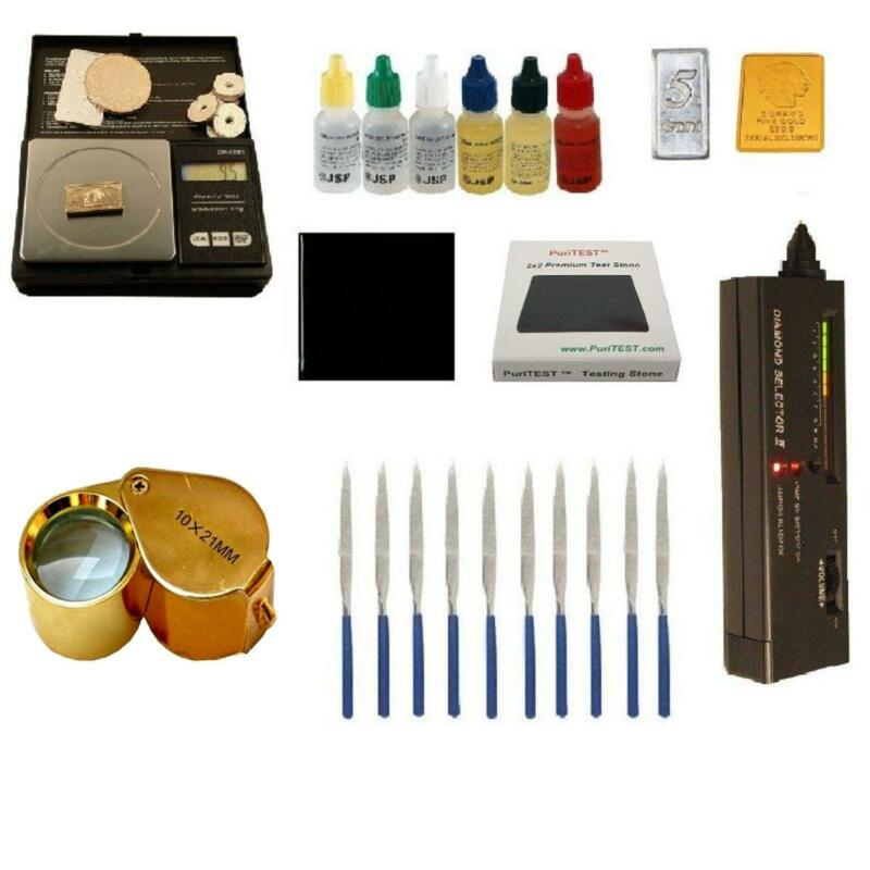 Gold Tester Kit : Gold acid test kit ebay