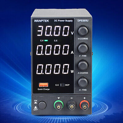 Dc Bench Power Supply Variable 0-30v 0-5a Adjustable Switching Regulated Ac110v