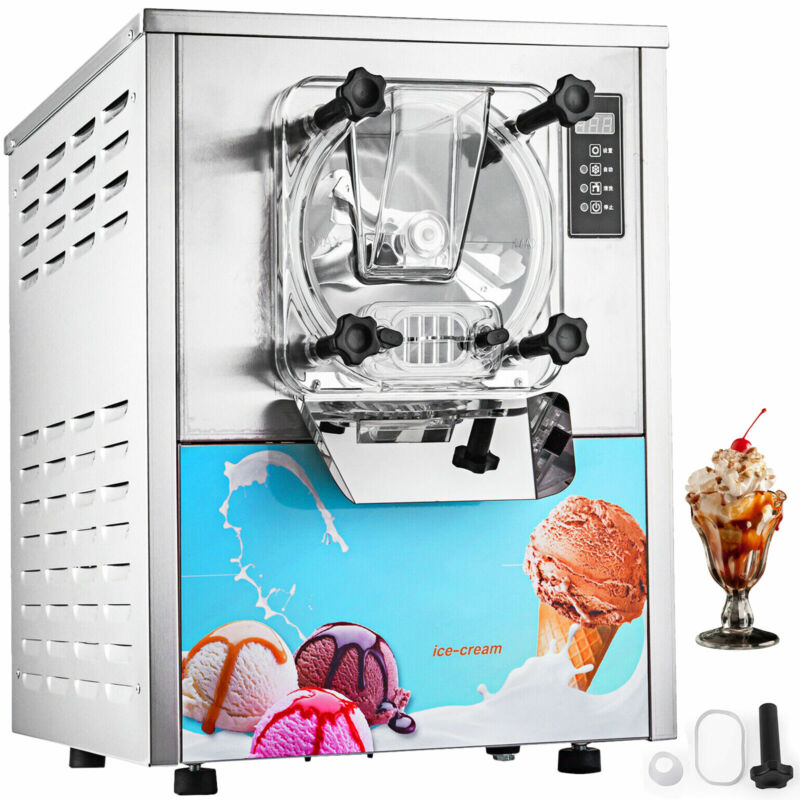 Commercial Frozen Hard Ice Cream Machine Maker 20 L/H Yogurt Ice Cream Maker
