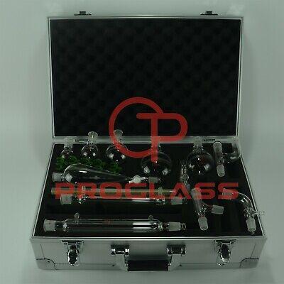 Proglass Primay Organic Chemistry Kit 1922 Lab Glassware Kit With Cabinet Box