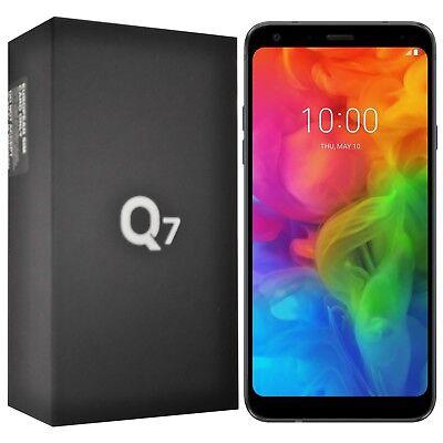 "New 5.5"" LG Q7 Q610 32GB Single-SIM Aurora Black Android Factory Unlocked 4G OEM"