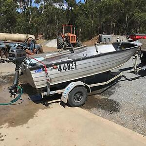 Savage Snipe 13ft with trailer and 8hp Legana West Tamar Preview
