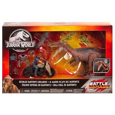 Jurassic World Battle Damage Ultimate Baryonyx Breakout GKH01 - Jurassic Park