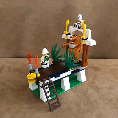 7411 Lego Complete Orient Expedition Tygurah's Roar tiger adventurers vintage