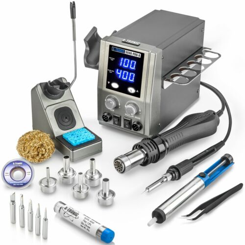 X-Tronic 6040-PRO-X - Platinum Edition - Hot Air Rework Soldering Iron Station