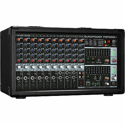 New Behringer PMP2000D 2000W Powered Mixer Buy it Now! Best Offer! Auth (Best Powered Monitors)