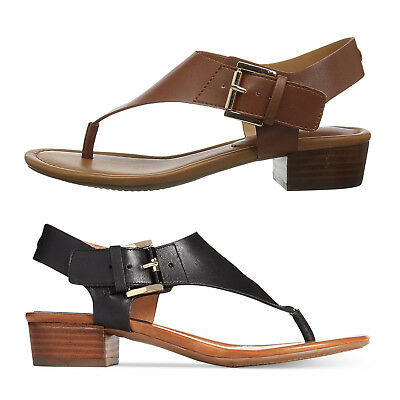 TOMMY HILFIGER KITTY BLACK , KITTY2 BROWN WOMENS THONG SANDAL OPEN TOE SHOES](Black Kitty)