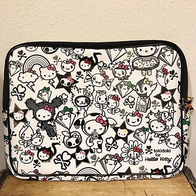 AUTHENTIC TOKIDOKI HELLO KITTY 35TH ANNIVERSARY LAPTOP BAG POUCH CASE NEW BAG  - Hello Kitty Laptop Bag