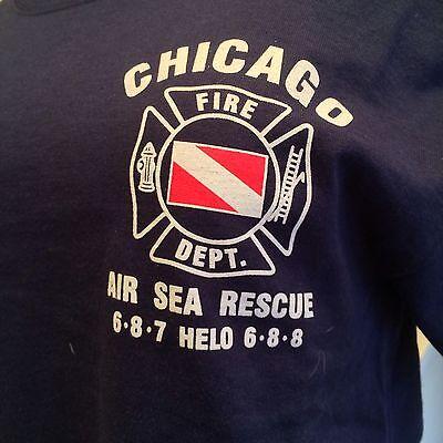 Chicago Fire Dept  Scuba Team T Shirt