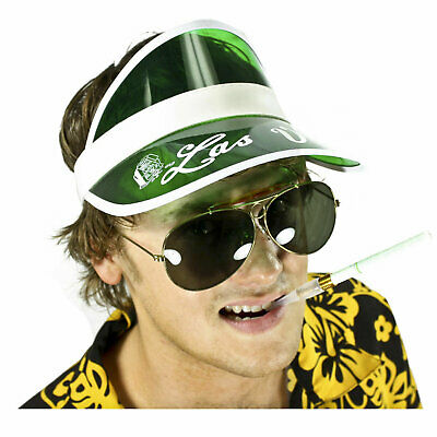 FEAR And LOATHING in Las Vegas Hunter S. Thompson Costume Cig Visor Sunglasses