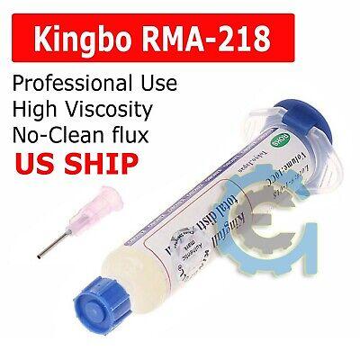 Kingbo Flux Rma-218 Soldering Solder Paste Tube 10cc Bga Reballing